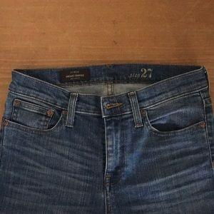 J Crew Vintage Crop Jeans